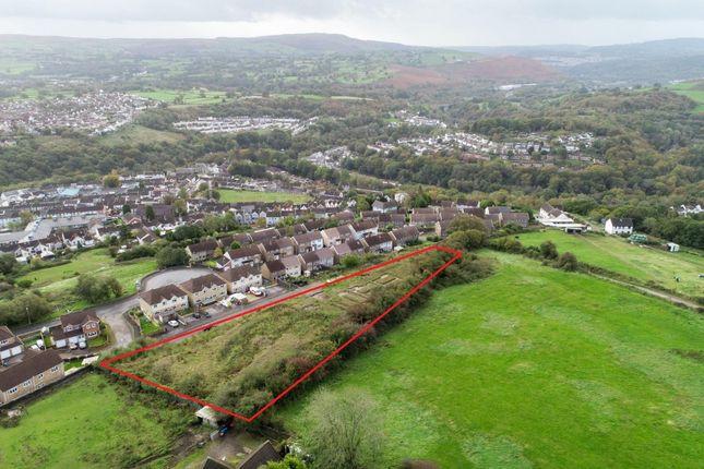 Thumbnail Land for sale in Springfield Rise, Treharris