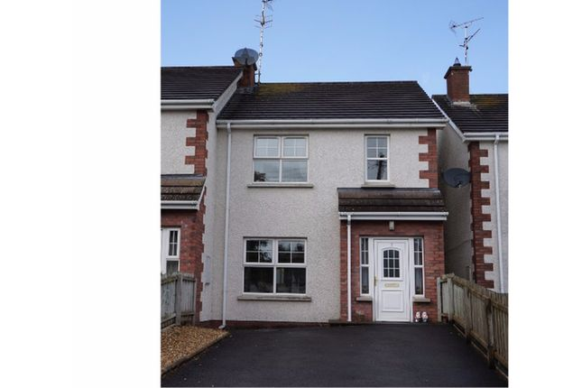 Thumbnail End terrace house for sale in Rossin View, Dungannon