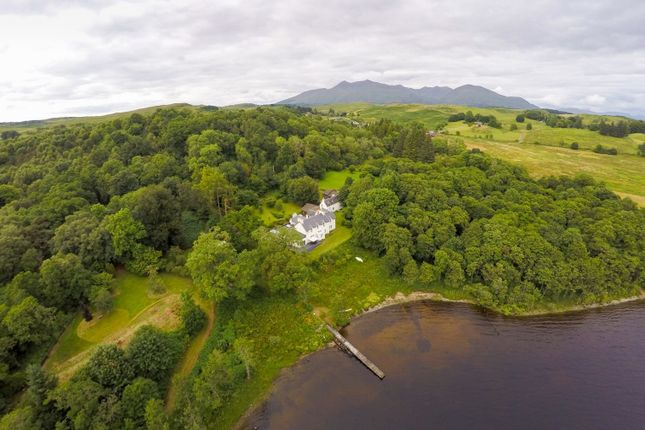 Thumbnail Country house for sale in Kilchrenan, By Taynuilt