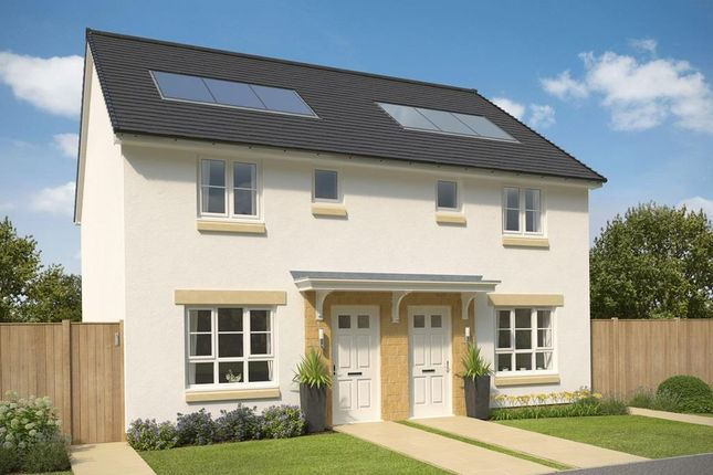 """3 bedroom terraced house for sale in """"Fasque 1"""" at Oldmeldrum Road, Inverurie"""