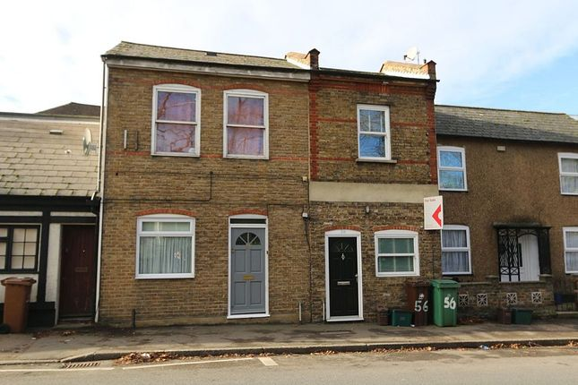 Thumbnail Maisonette for sale in Manor Road, Wallington, Surrey