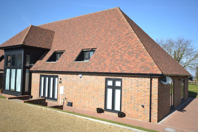 Thumbnail Barn conversion to rent in Tithe Barn, Eynsford Road, Kent
