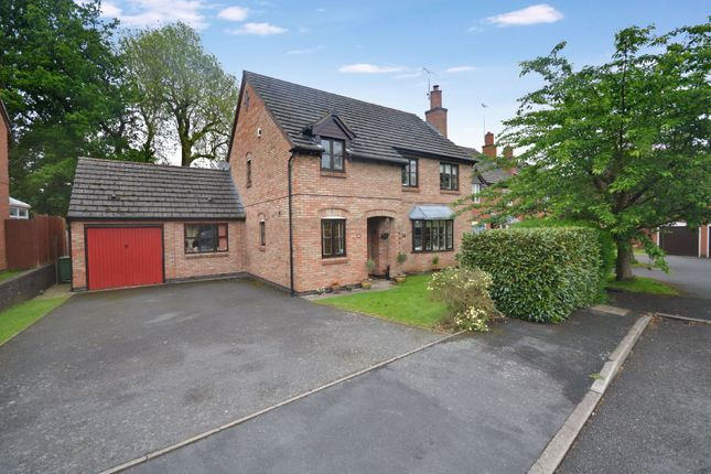 Thumbnail Detached house for sale in Bonner Close, Oadby, Leicester