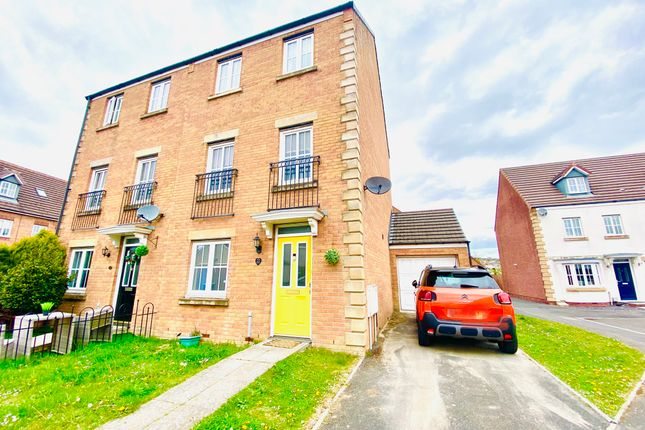 Thumbnail Town house for sale in Bryntirion, Llanelli