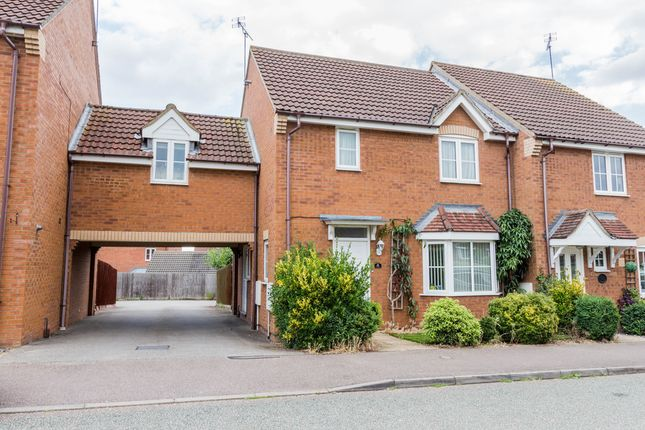 Thumbnail Semi-detached house for sale in Ebbw Vale Road, Irthlingborough, Wellingborough