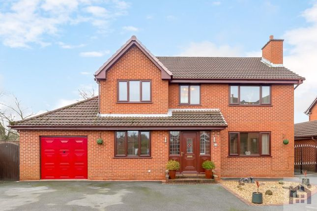 Thumbnail Detached house for sale in Chelmsford Walk, Leyland