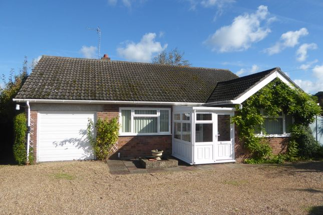 Thumbnail Detached bungalow for sale in Mill Lane, Barnby, Beccles