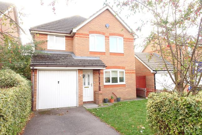 Thumbnail Detached house to rent in The Oval, Oldbrook, Milton Keynes