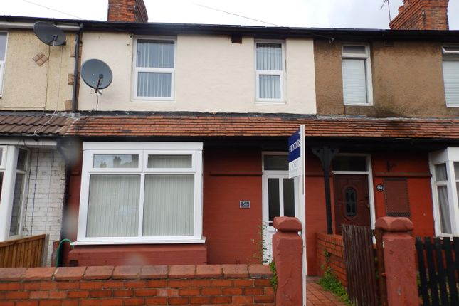 3 bed terraced house to rent in Princes Road, Ellesmere Port, Cheshire CH65
