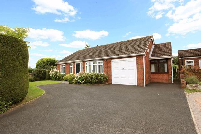 Thumbnail Detached bungalow for sale in Coalport Road, Broseley