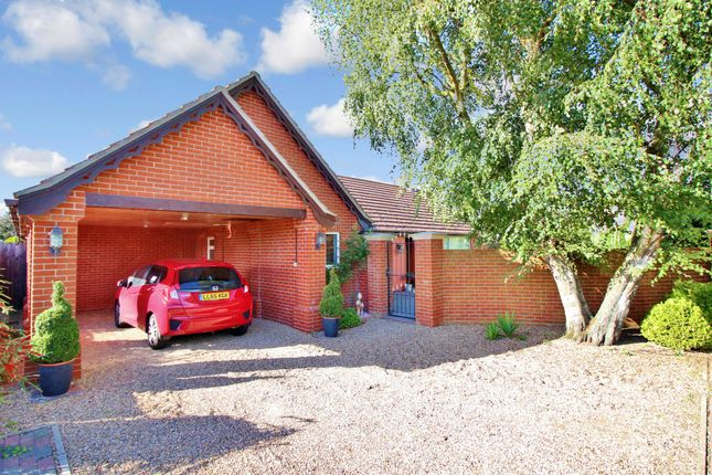 Thumbnail Detached bungalow for sale in Eels Foot Road, Ormesby, Great Yarmouth