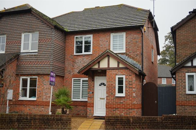 Thumbnail Terraced house for sale in Tritton Place, Pulborough