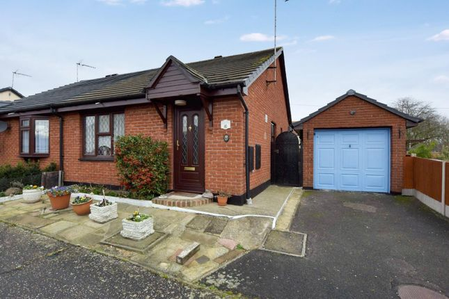 Thumbnail Semi-detached bungalow for sale in Benton Close, Witham
