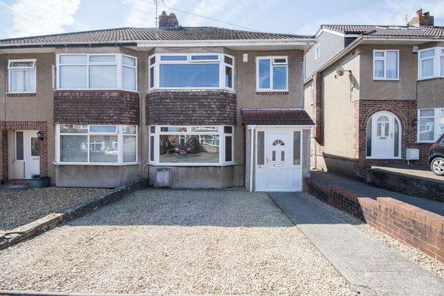 Thumbnail Semi-detached house for sale in Dunster Road, Keynsham, Bristol
