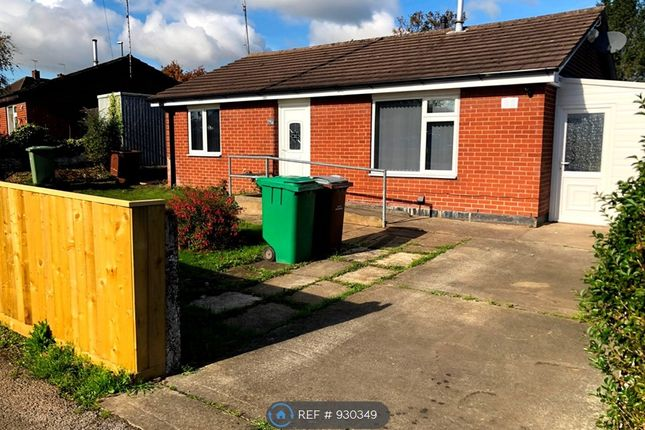Thumbnail 2 bed bungalow to rent in Glaisdale Drive East, Nottingham