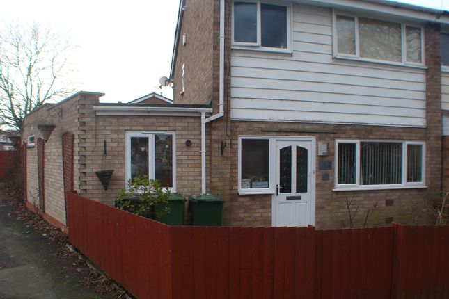 Thumbnail Semi-detached house to rent in Chadcote Way, Catshill, Bromsgrove