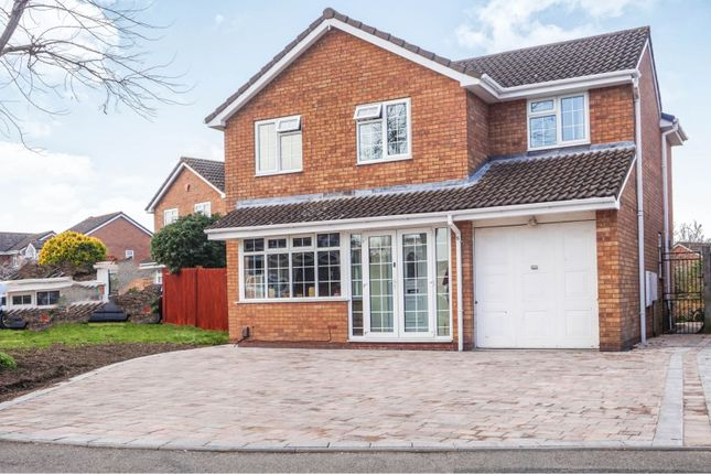 Thumbnail Detached house for sale in Cote Road, Shawbirch, Telford