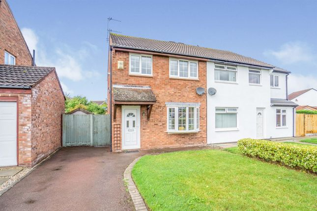 Thumbnail Semi-detached house for sale in Bromsgrove Road, Greasby, Wirral