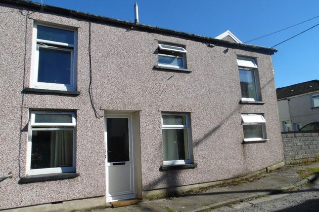 Thumbnail End terrace house to rent in Bell Street, Trecynon, Aberdare