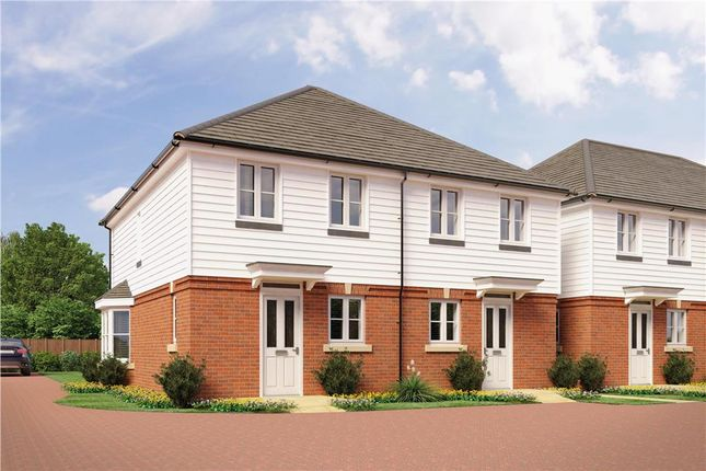 "Thumbnail Semi-detached house for sale in ""Osprey"" at Gamecock Terrace, Tangmere, Chichester"