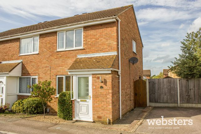 Thumbnail Semi-detached house for sale in Wakehurst Close, Norwich