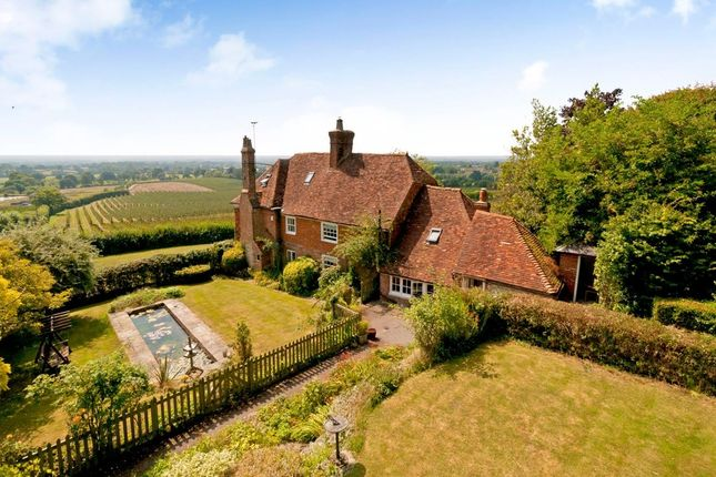 Thumbnail Detached house for sale in Rectory Lane, Sutton Valence, Maidstone