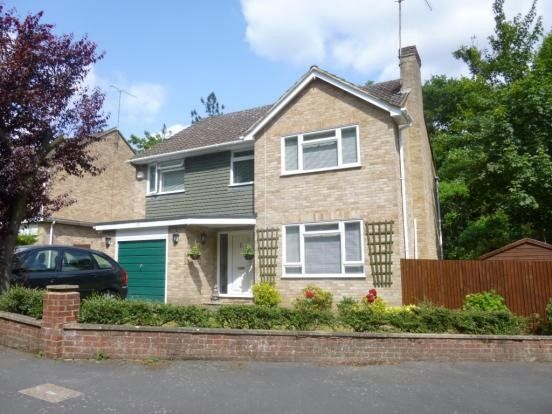 Thumbnail Detached house to rent in Highbury Crescent, Camberley