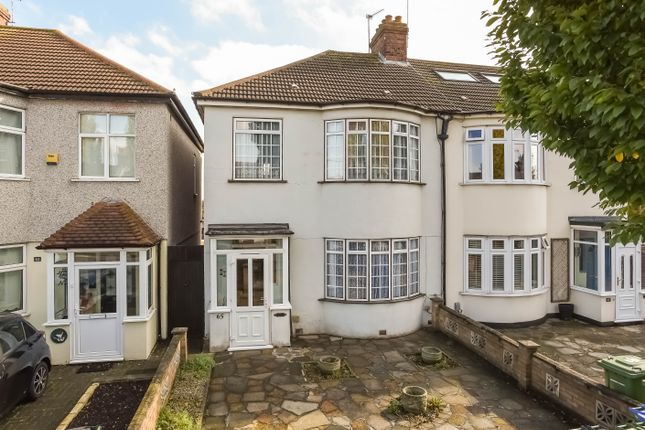 Thumbnail Semi-detached house for sale in Green Lane, New Eltham, London