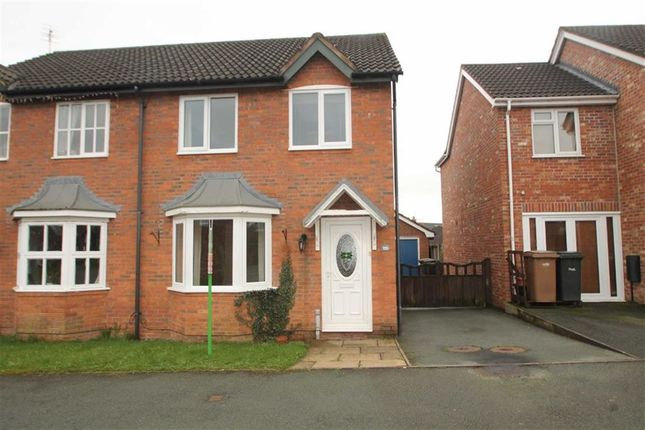 Thumbnail Semi-detached house to rent in Cabin Lane, Oswestry, Shropshire