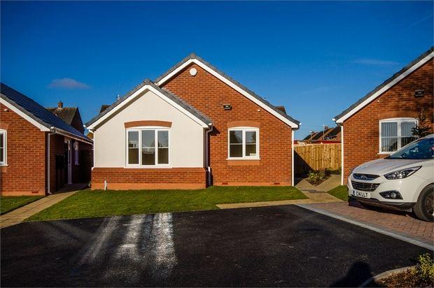 Thumbnail Detached bungalow for sale in Tonadine Close, Wednesfield, Wolverhampton, West Midlands