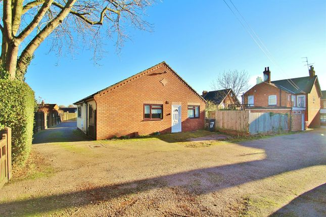 Thumbnail Bungalow for sale in Woodgate, Rothley, Leicester