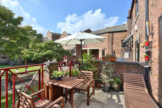 Thumbnail End terrace house to rent in Prospect Place, Wapping Wall, London