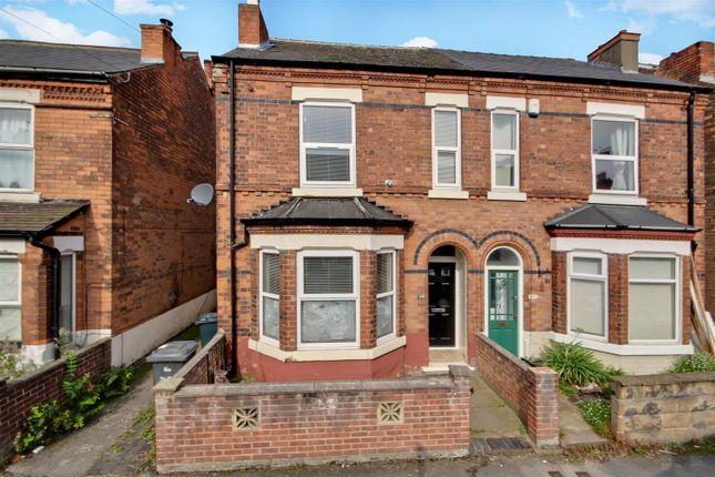 Thumbnail Semi-detached house for sale in Ashwell Street, Netherfield, Nottingham