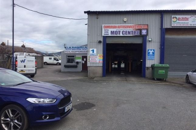 Thumbnail Commercial property for sale in Glan Aber Trading Estate, Vale Road, Rhyl