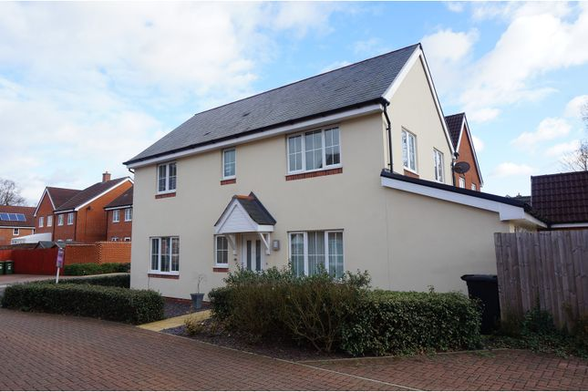 Thumbnail Detached house for sale in Mill Gardens, West End, Southampton