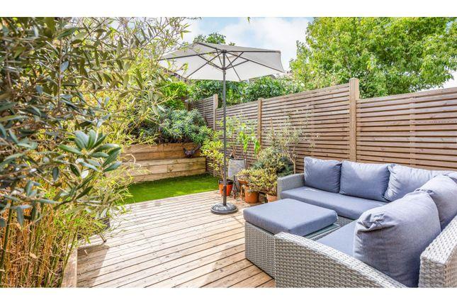 Garden of Dagmar Road, London N22