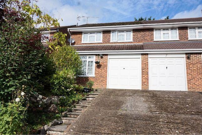 Thumbnail Semi-detached house for sale in Paul Close, Aldershot