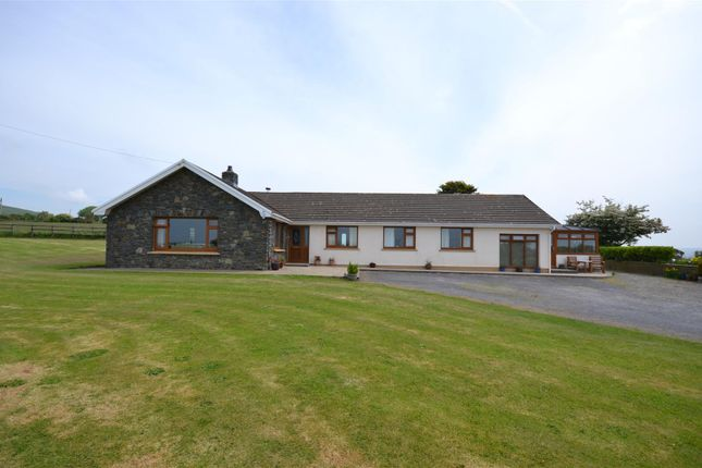 Thumbnail Detached bungalow for sale in Dinas Cross, Newport