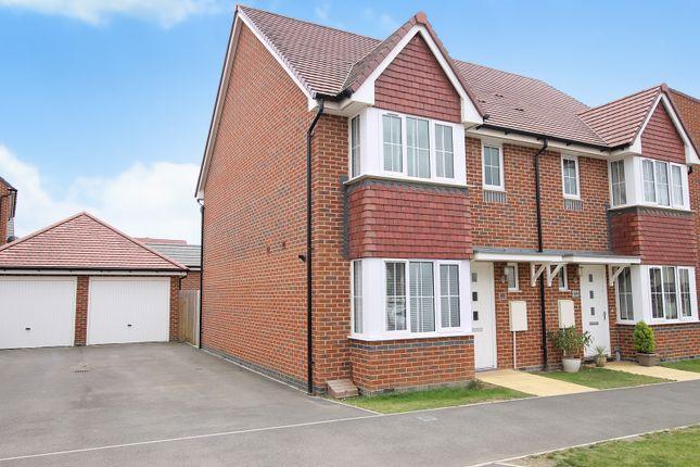 3 bed semi-detached house to rent in Benjamin Gray Drive, Littlehampton BN17