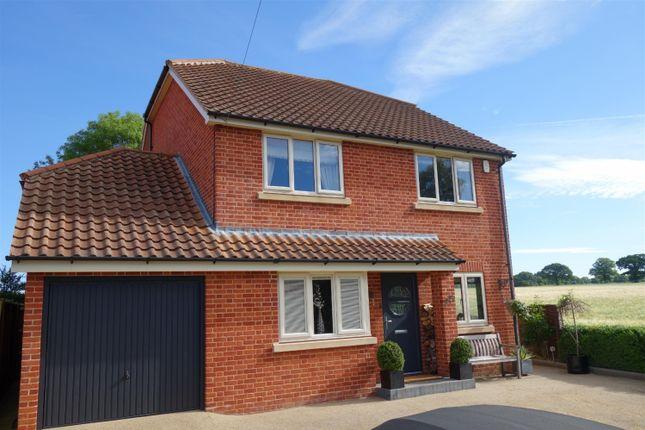 Thumbnail Detached house for sale in Long Lane, Strumpshaw, Norwich