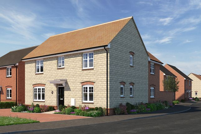 "Thumbnail Detached house for sale in ""The Kempthorne"" at Moormead Road, Wroughton, Swindon"
