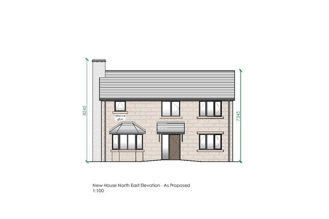 Thumbnail Detached house for sale in Bright Street, North Wingfield, Chesterfield
