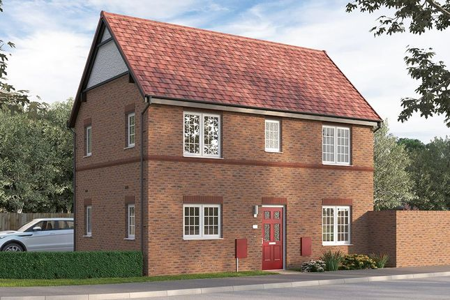 """Thumbnail Semi-detached house for sale in """"The Seabridge Semi"""" at Steeplechase Way, Market Harborough"""
