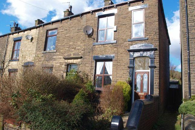 Thumbnail End terrace house for sale in 225 Huddersfield Road, Newhey, Rochdale