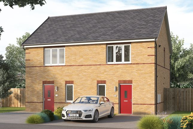 "2 bed semi-detached house for sale in ""The Baybridge"" at Chilton, Ferryhill DL17"