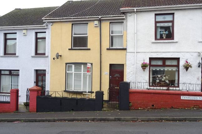 Thumbnail Terraced house to rent in Tynycoed Terrace, Penydarren