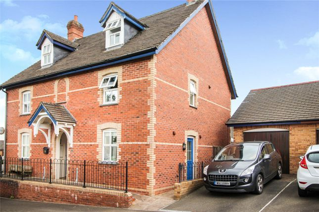 Thumbnail Semi-detached house to rent in St. Peters Road, Holsworthy