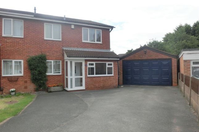 Thumbnail Semi-detached house for sale in Newcroft Grove, Yardley, Birmingham