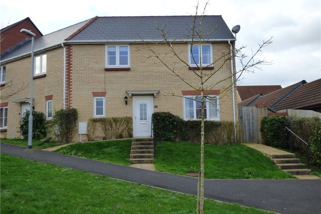 2 bed semi-detached house to rent in Monarch Road, Crewkerne, Somerset TA18