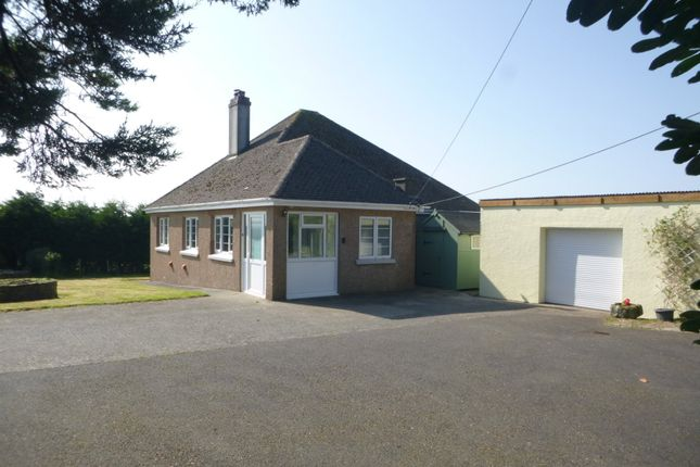 Thumbnail Detached bungalow to rent in Launcells, Bude